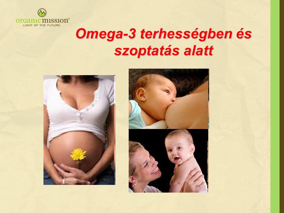 Omega-3 terhességben és szoptatás alatt