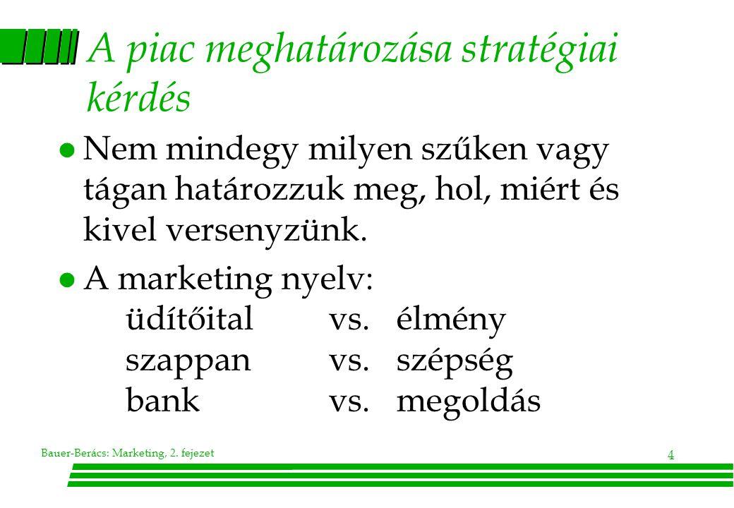 Bauer-Berács: Marketing, 2. fejezet 25