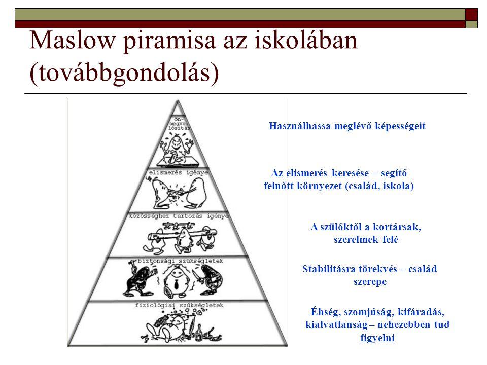 A kiterjesztett szükséglet piramis I.
