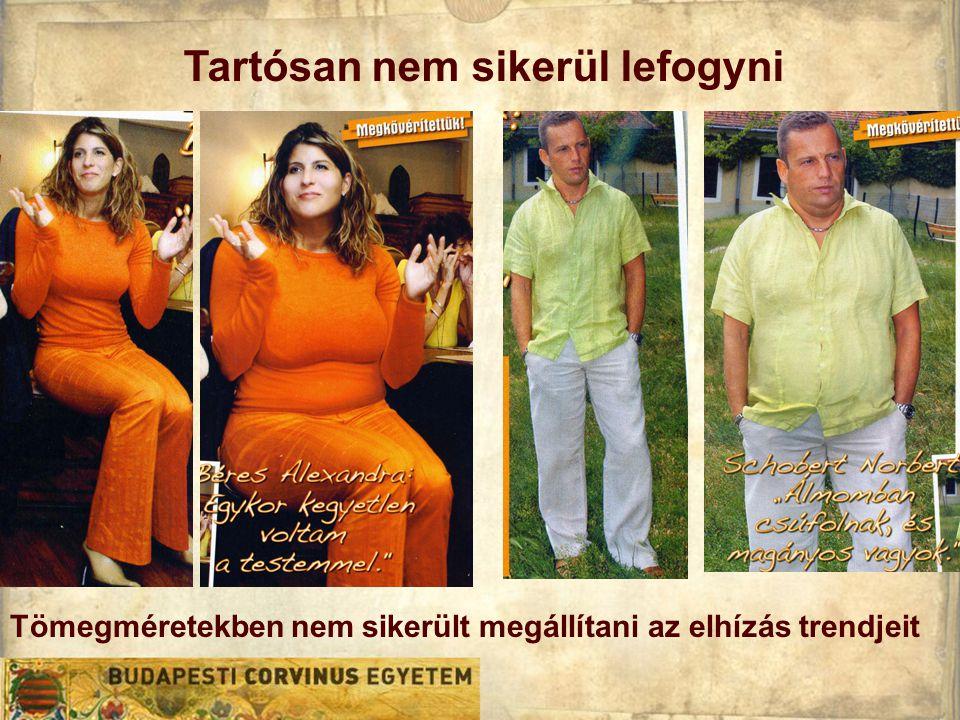 Tömegméretekben nem sikerült megállítani az elhízás trendjeit Tartósan nem sikerül lefogyni