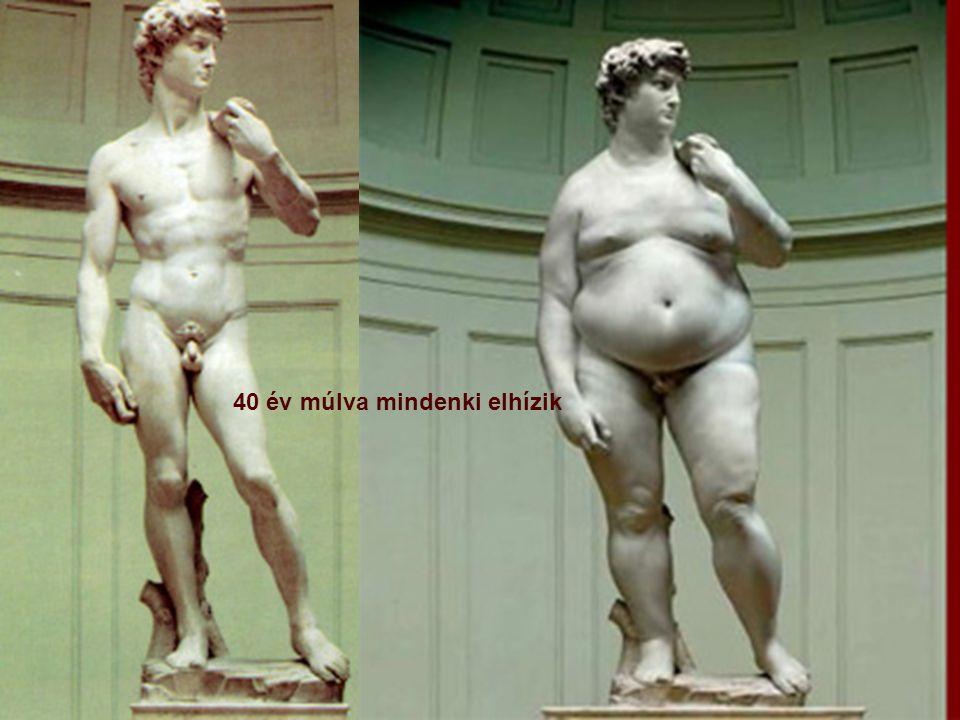 40 év múlva mindenki elhízik