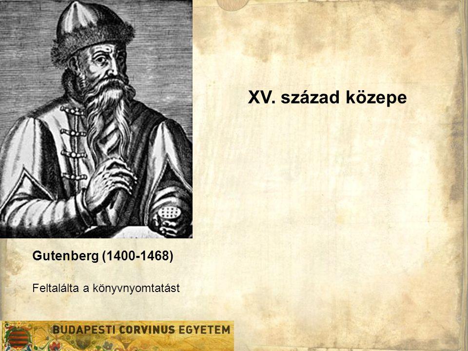 Cervantes (1547-1616) Gutenberg (1400-1468) • 1604.