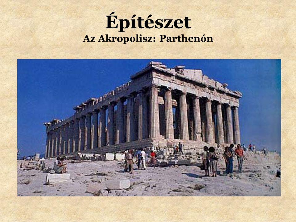 Építészet Az Akropolisz: Parthenón