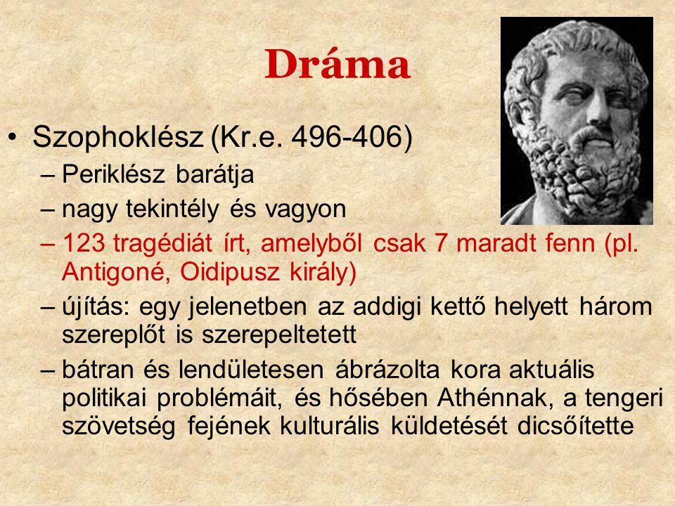 Dráma •Euripidész (Kr.e.