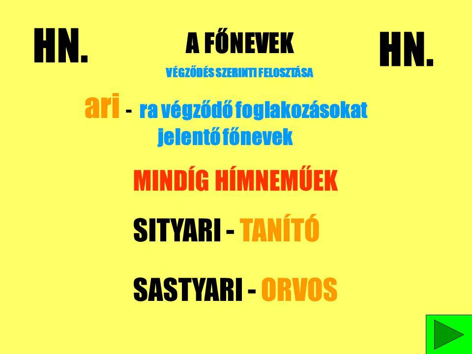 MELLÉKNEVEK GYAKORLÁSA 1.SZEGÉNY EMBEREK MEGOLDÁS 2.