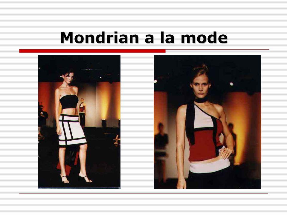 Mondrian a la mode