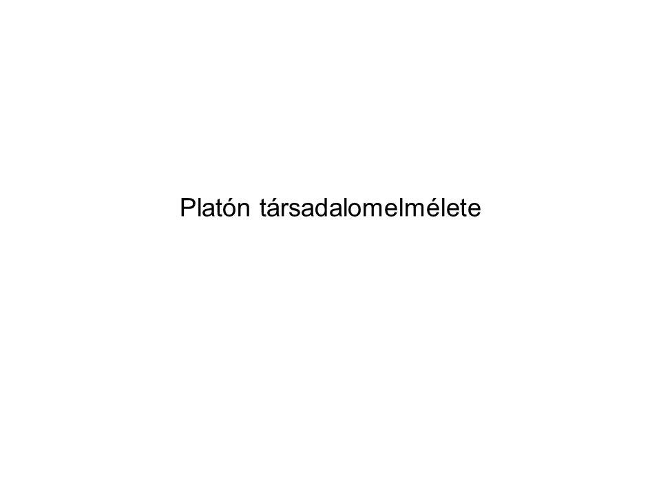 Platón társadalomelmélete