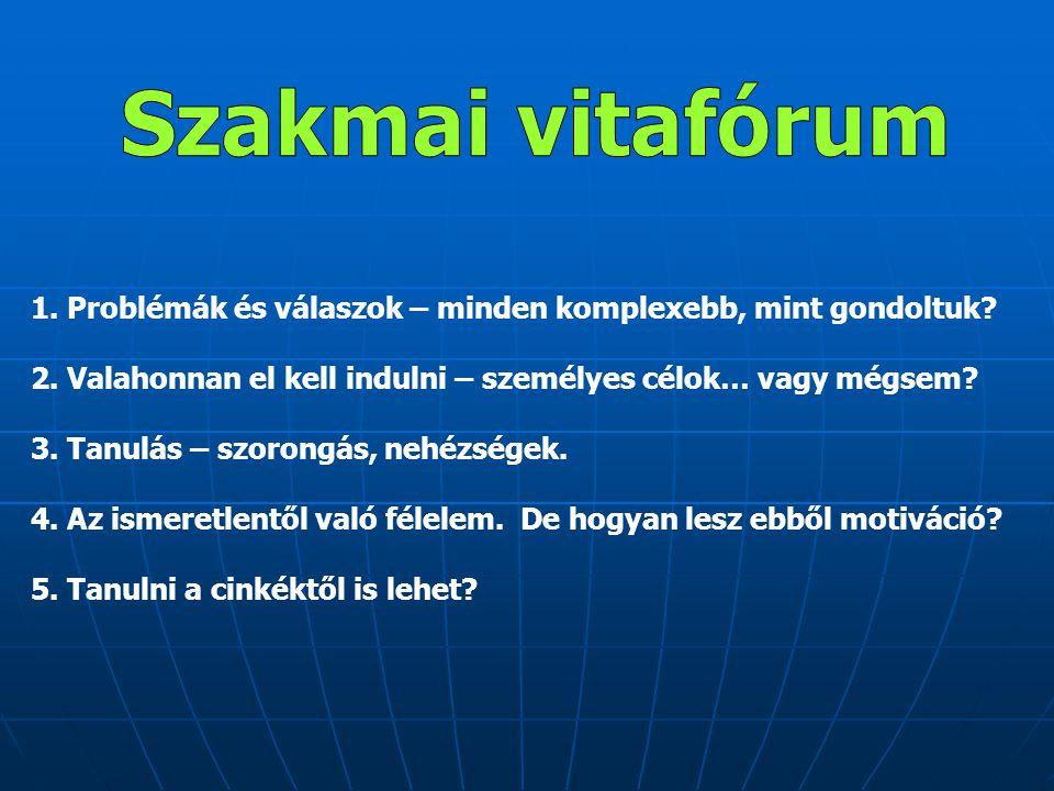 Kőpatakiné Mészáros Mária Oktatáskutató és Fejlesztő Intézet www.ofi.hu