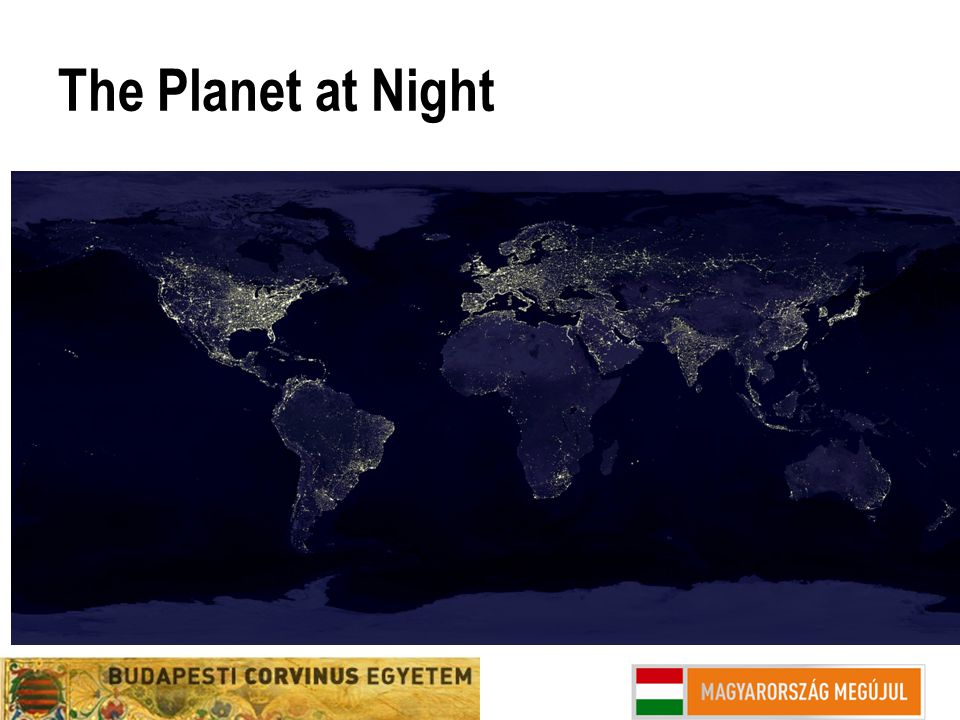 The Planet at Night