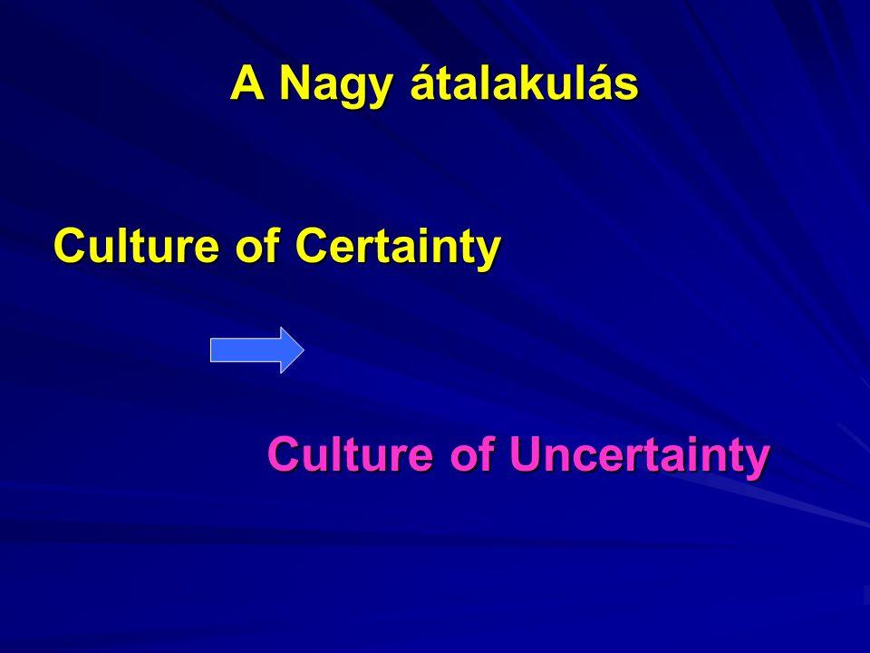"""""""Kockázati társadalom """"Kockázati társadalom Ulrich Beck A meglepetés és bizonytalanság világa Donald H."""