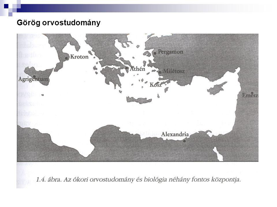 Görög orvostudomány