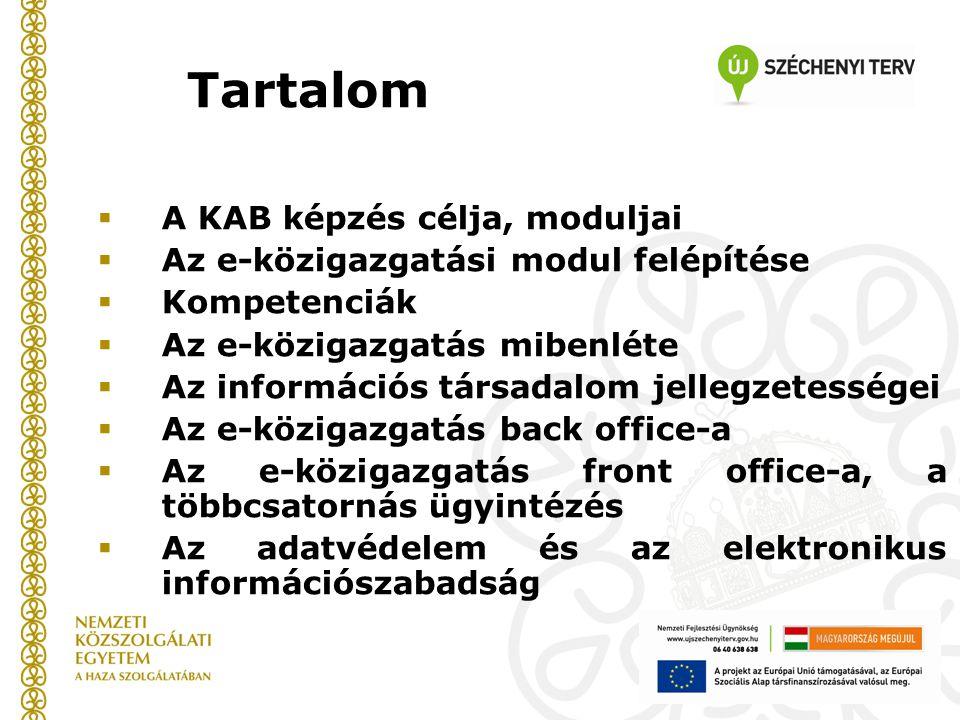 Front office csatornák - Portalógia Dr.Budai Balázs PhD.