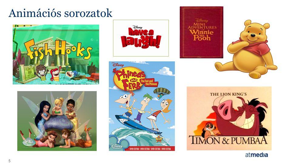 Animációs sorozatok 5