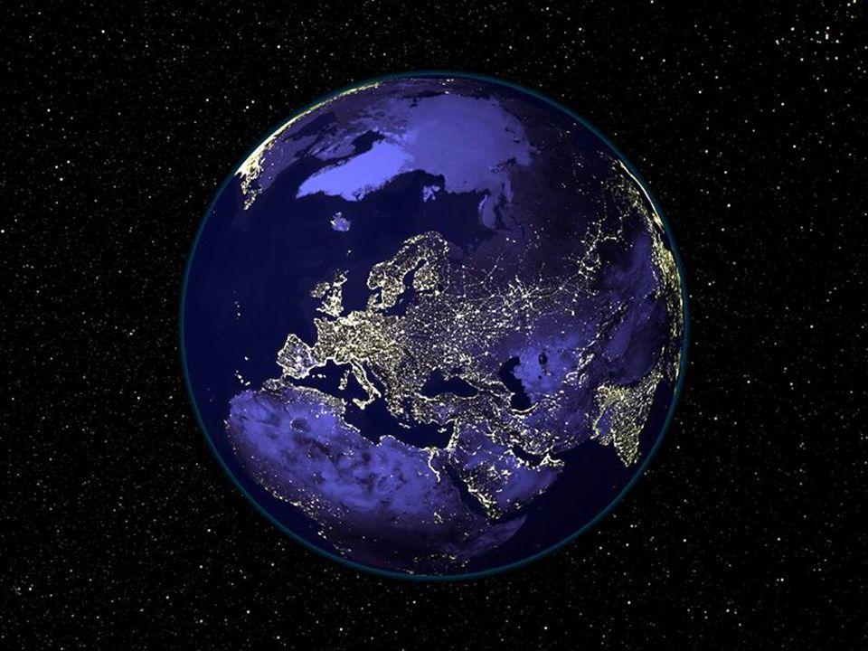 Bolygónk - éjszaka