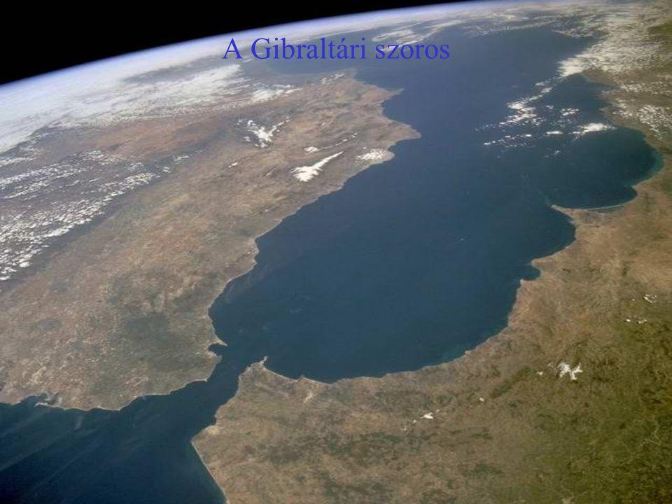 Homokvihar Észak-Afrikától a Kanári szigetek irányába