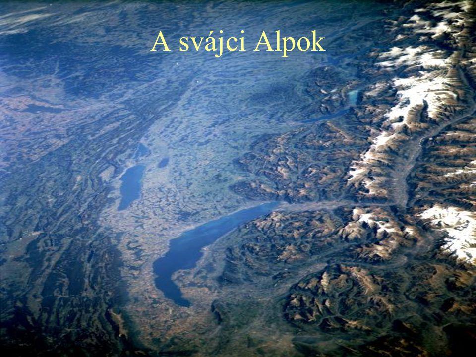A svájci Alpok