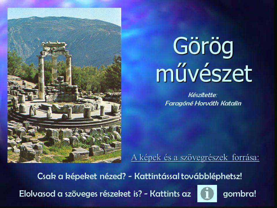 Az ókori Hellasz kultúráját és művészetét évszázadok óta az európai művészet forrásának tekintik.