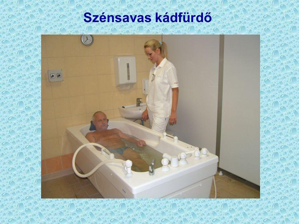 Szénsavas kádfürdő
