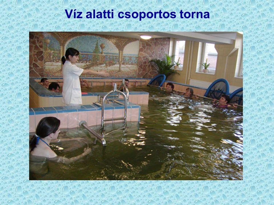 Víz alatti csoportos torna