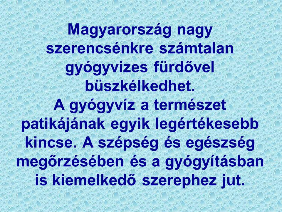Magyarország nagy szerencsénkre számtalan gyógyvizes fürdővel büszkélkedhet. A gyógyvíz a természet patikájának egyik legértékesebb kincse. A szépség