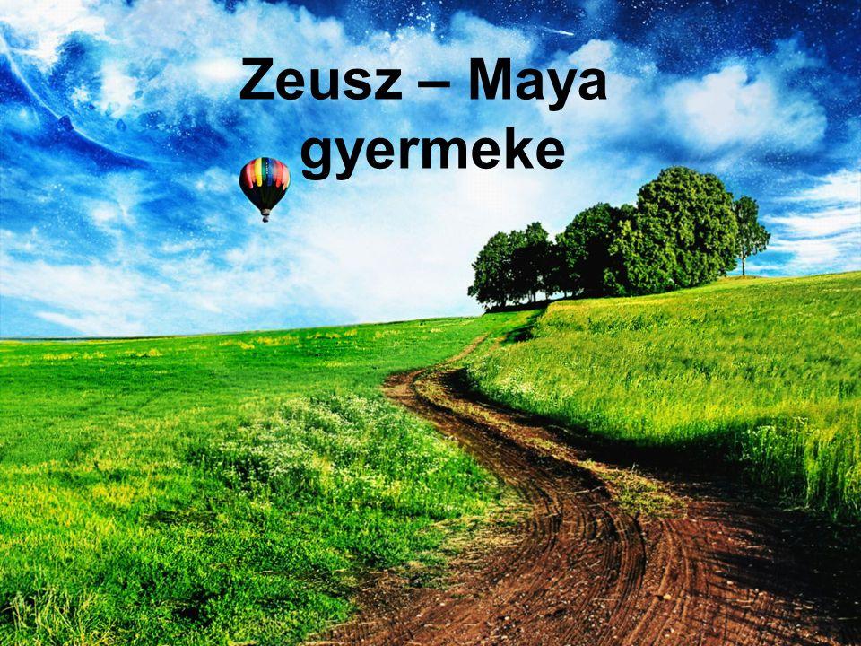 Zeusz – Maya gyermeke