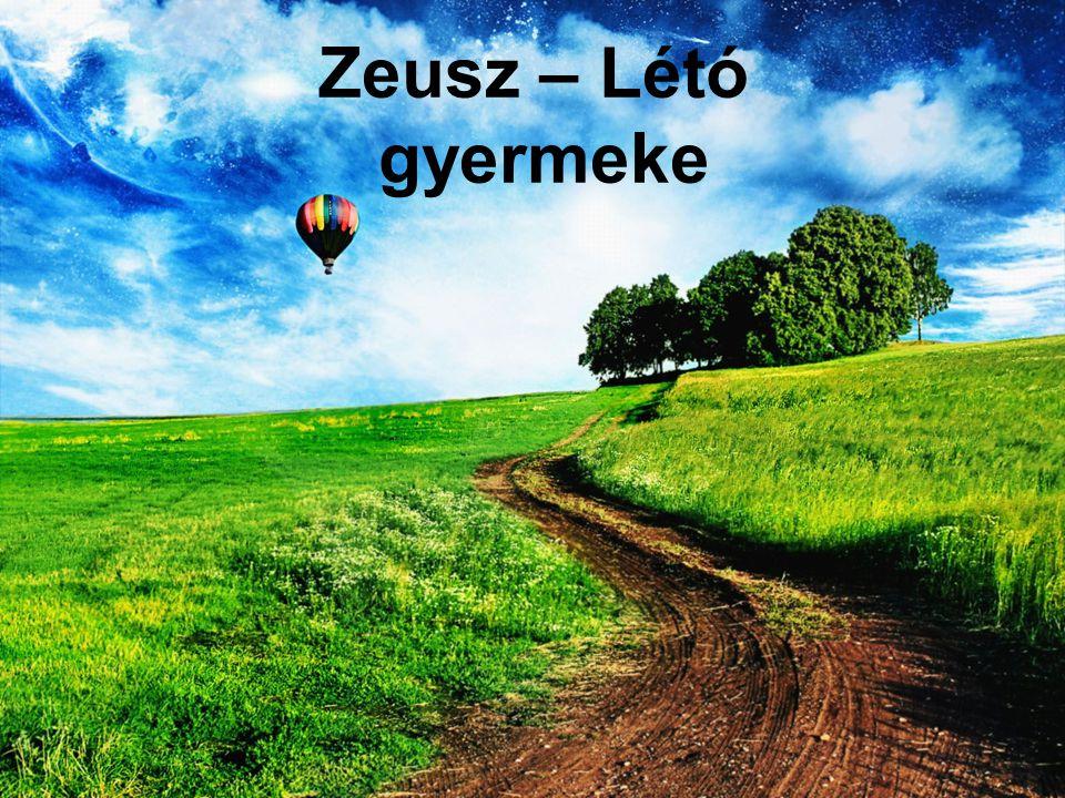 Zeusz – Létó gyermeke