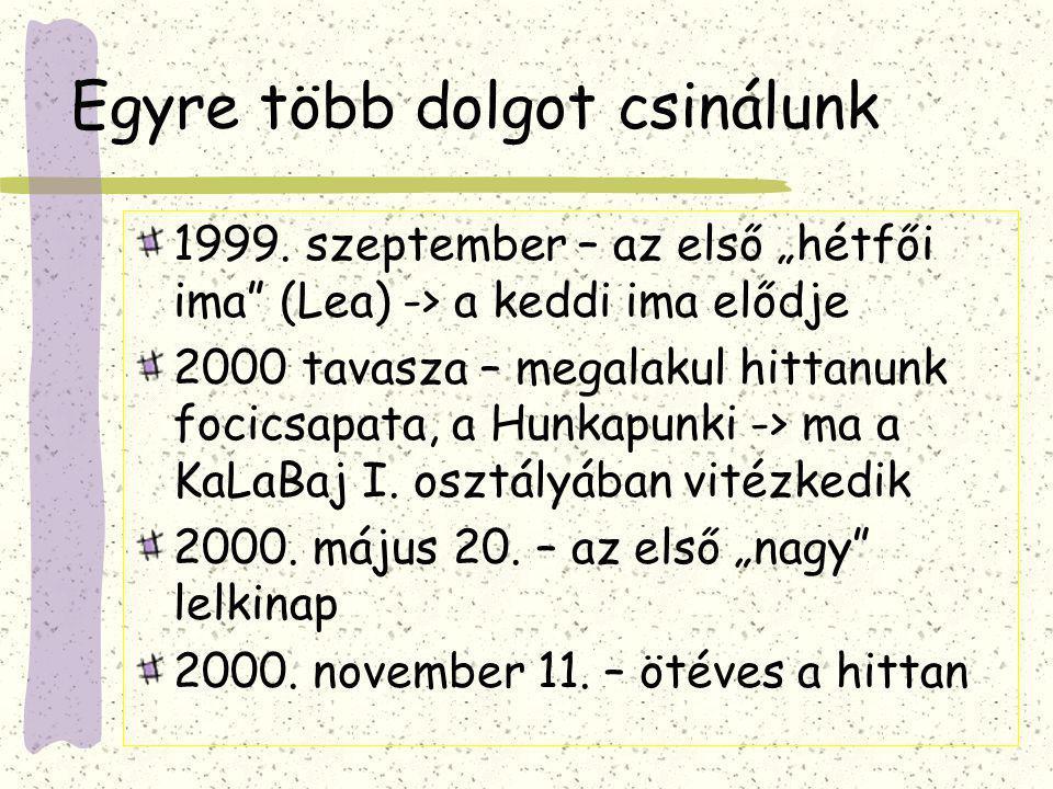 Legek 1995.szeptember 12. óta: 3688 nap telt el Ez kb.