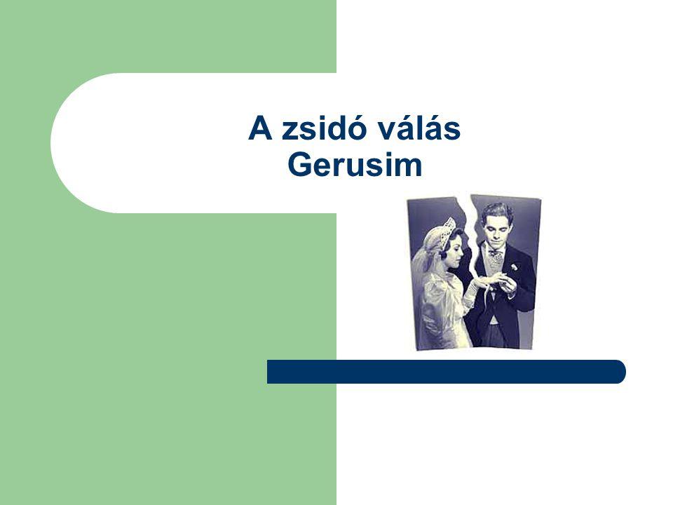 A zsidó válás Gerusim