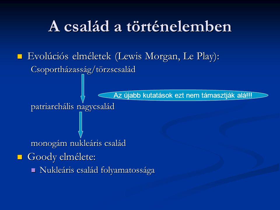Családi-rokoni hálózatok  Rokonság  Típusok:  Kiterjesztett család:  Vertikális integráció:  Rokoni, politikai és területi szerveződés (klánok)
