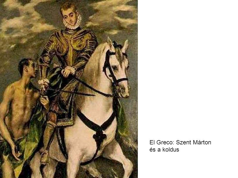 El Greco: Szent Márton és a koldus
