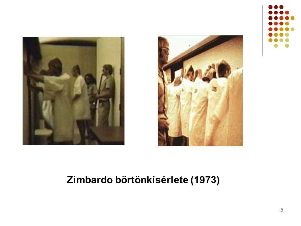19 Zimbardo börtönkísérlete (1973)