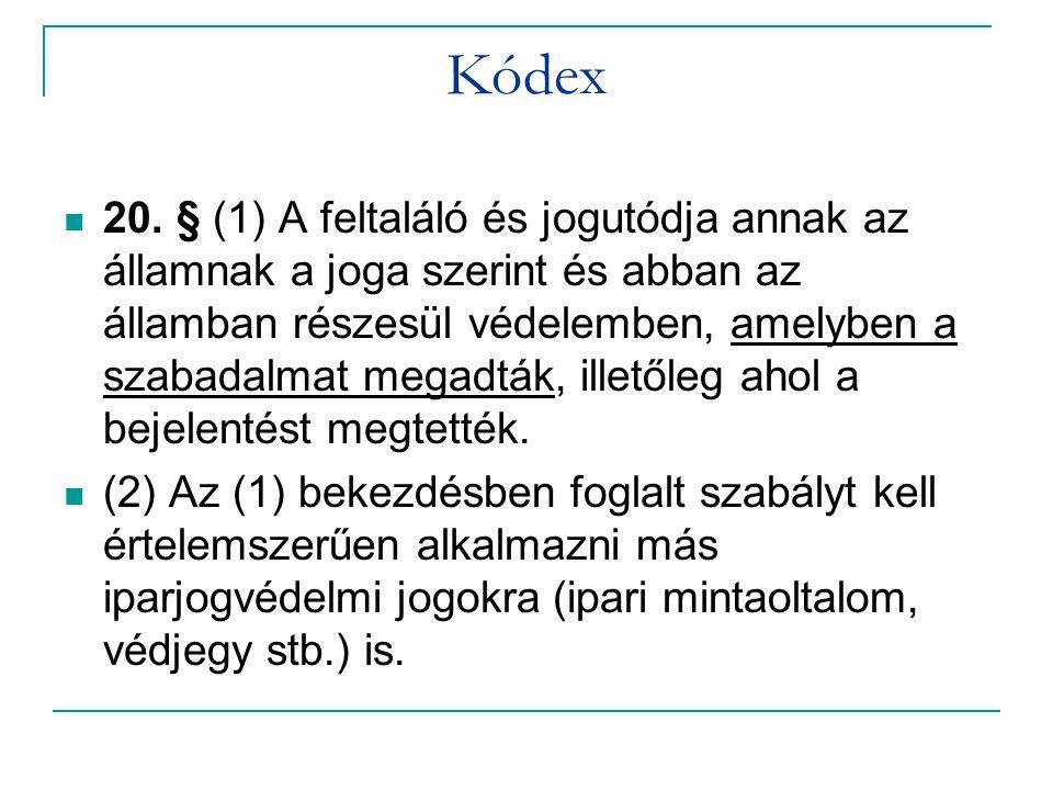 Kódex  20.