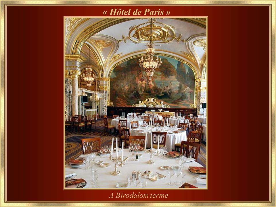 1864. óta működik « Hôtel de Paris »