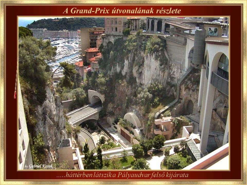 A Grand-Prix vasárnapja Monaco szívesen a helyet ennek az autóversenynek