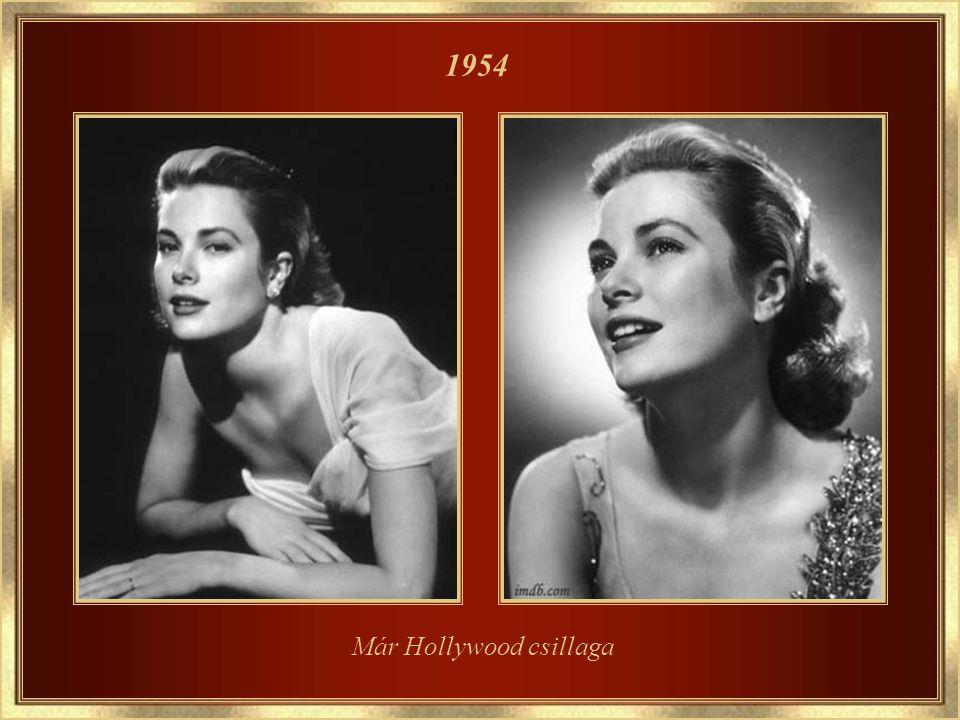 A Mogambo c. filmben, partnere Clark Gable 1952