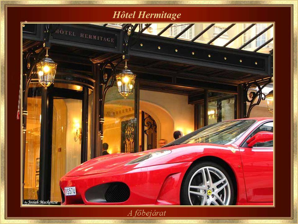 Hôtel Hermitage Egy kifinomult, tradicionális szálloda