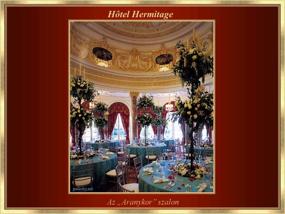Hôtel Hermitage Az előcsarnok