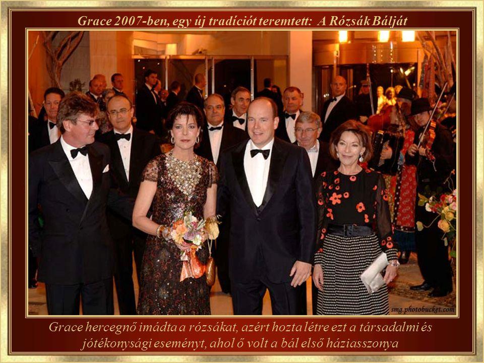 A hercegnő gyermekei ma...... A fiú, II.Albert, a jelenlegi uralkodó herceg, és a hercegnők