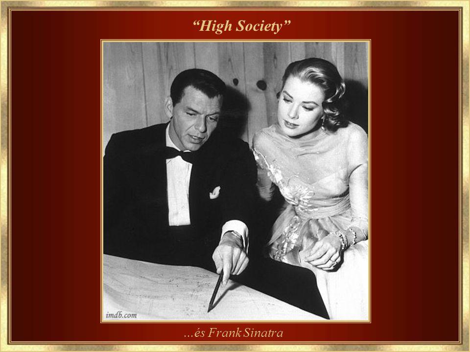 1956 – A legutolsó filmje High Society (Felső tízezer) – partnere Louis Armstrong…