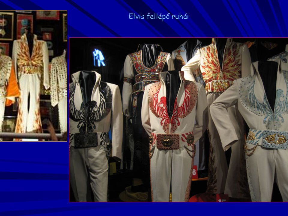 Elvis fellépő ruhái