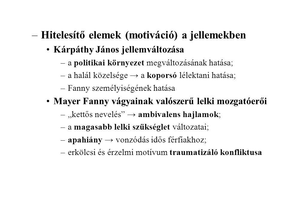 •Az Egy magyar nábob mint irányregény –az eszmeiség mint a regény egységét biztosító tényező •irányregény: a fikció politikai programot közvetít (nemzeti polgárosodás); •a politikai eszme egységesítő szerepe: –biztosítja a cselekmény és az epizódok összefüggését; –motiválja a jellemek alakulását (változásukat ill.