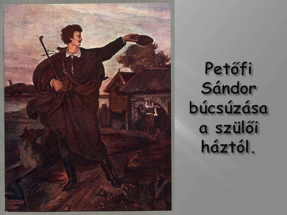 1844-ben ismerkedett meg Csapó Etelkével,aki iránt rögtön házassági reményeket is táplált.A leány azonban 1845 elején váratlan betegségben elhunyt.