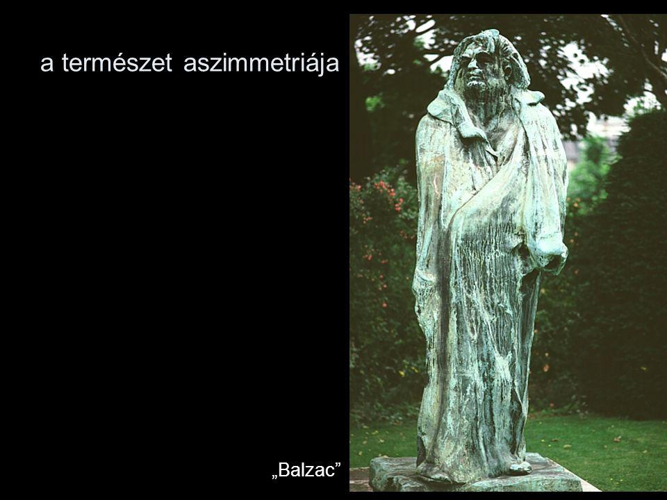 """a természet aszimmetriája """"Balzac"""