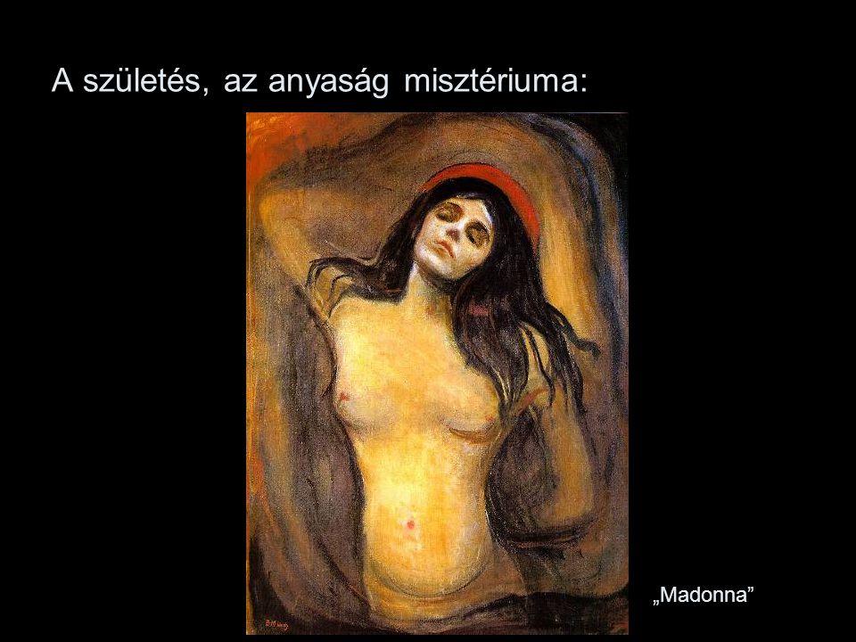 """A születés, az anyaság misztériuma: """"Madonna"""