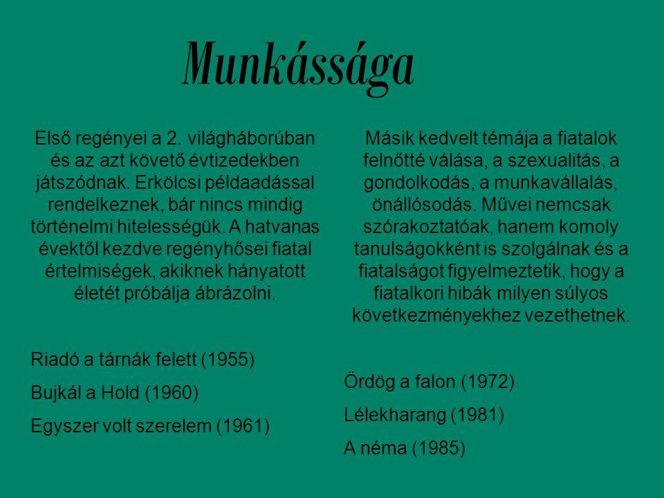 Egymás szemében A könyv két 17 éves, Ventus Tamara és Fábián Attila naplóbejegyzései áltat mutat be egy hónapot 1975-ből Budapestről.
