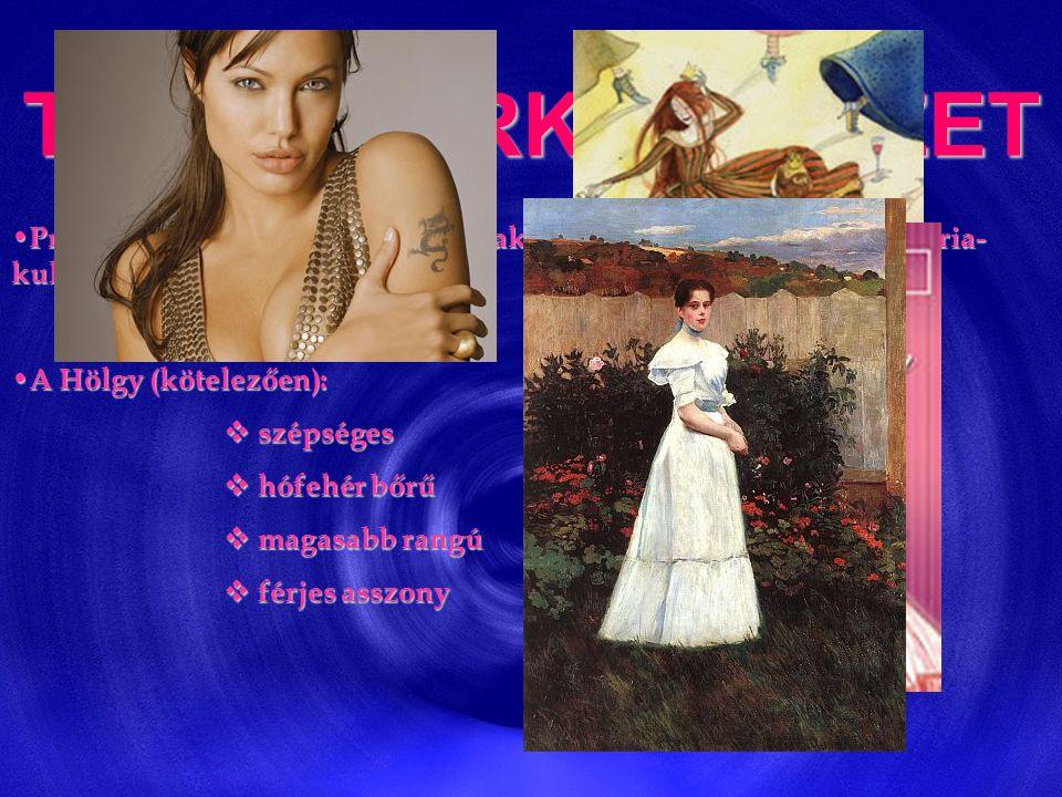 TRUBADÚRKÖLTÉSZET • Provance-ban (D-Franciaország) alakult ki, a XI. sz. végén ( → a Mária- kultusz kialakulásának ideje) • A Hölgy (kötelezően):  sz