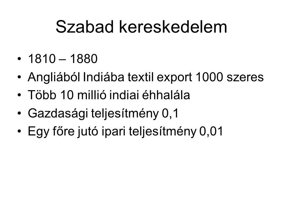 Ajándékot küldtek: •1737-ben, három hét alatt, egy himlővel fertőzött takaró egy indián falú lakosságát 2000 –ről, 40 főre csökkentette.