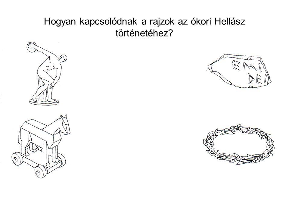 Hogyan kapcsolódnak a rajzok az ókori Hellász történetéhez?