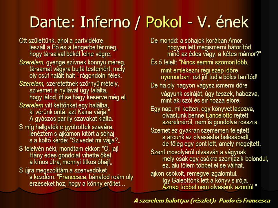 Dante: Inferno / Pokol - V.