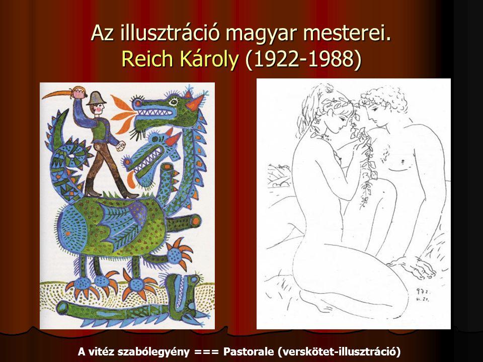 Az illusztráció magyar mesterei.